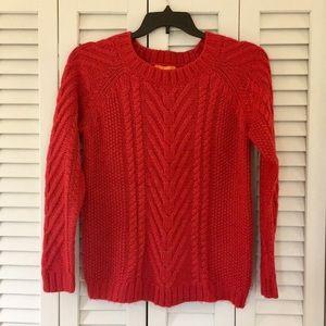 Joe Fresh red sweater